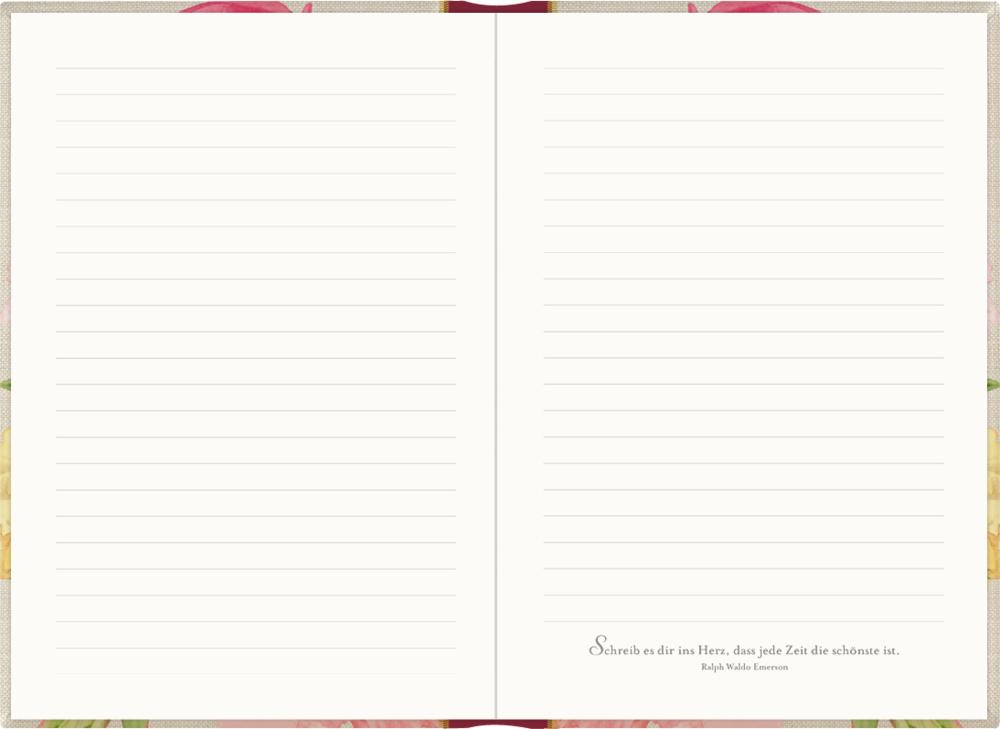 Tagebuch mit Schloss - M. Bastin