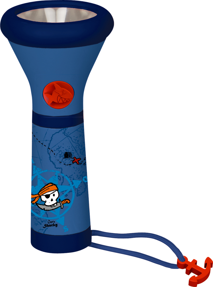 Taschenlampe Capt'n Sharky