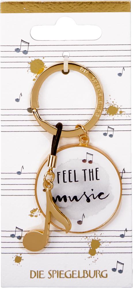 gold, Schlüsselanhänger All about music