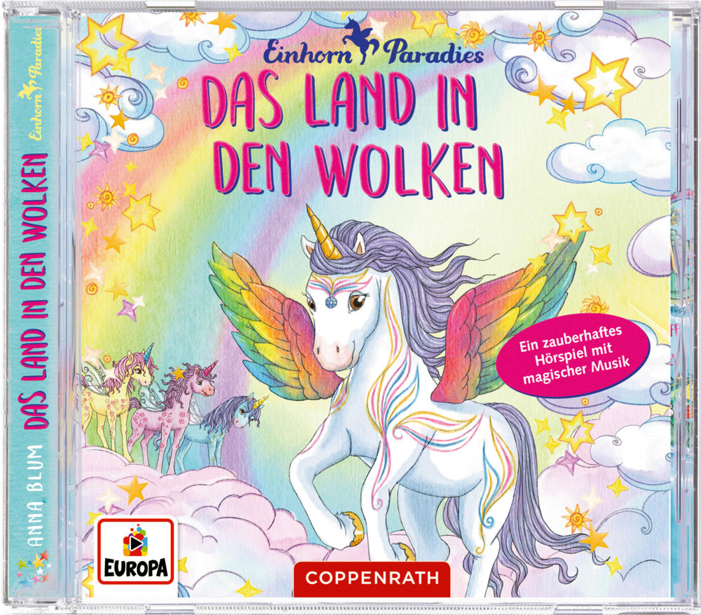 CD Hörspiel: Einhorn-Paradies (Band 6)  Das Land in den Wolken