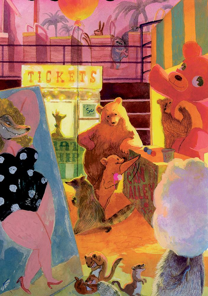 Jahrmarkt um Mitternacht