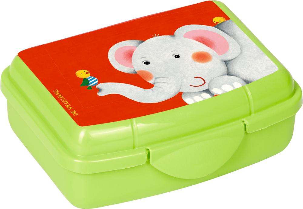 Mini-Snackbox Elefant - Freche Rasselbande