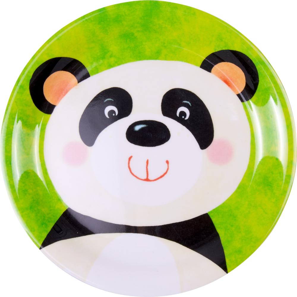 Melamin-Teller Panda - Freche Rasselbande