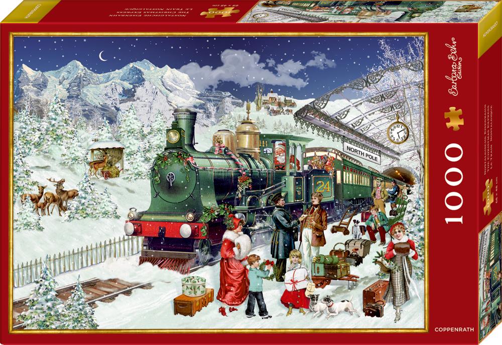Puzzle Nostalgische Eisenbahn - B.Behr (1000 Teile)
