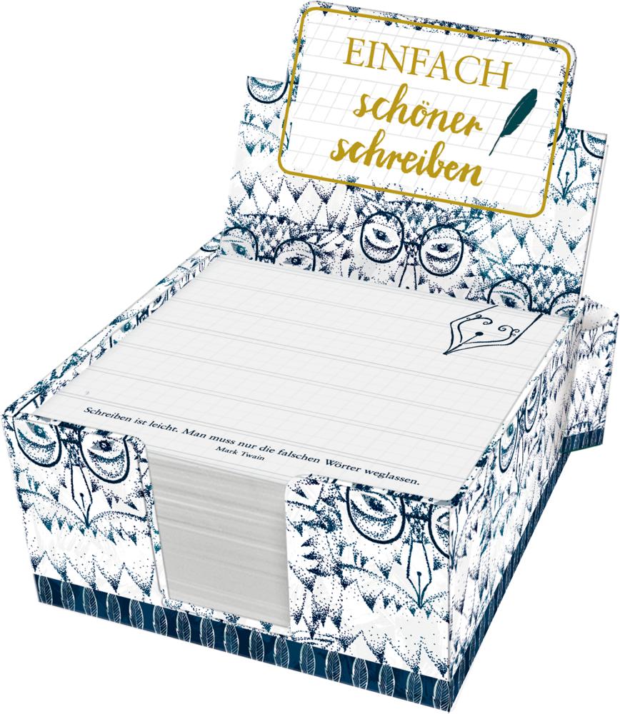 Zettelkästchen - Einfach schöner schreiben (BücherLiebe!)
