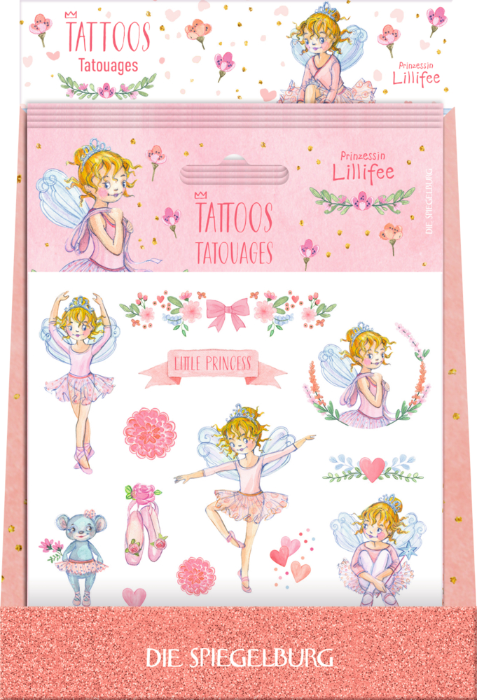 Tattoos Prinzessin Lillifee Ballett