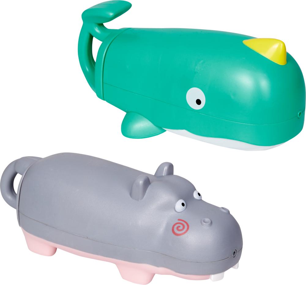 Wassershooter Wal oder Nilpferd Spiegelburg Sommerkinder