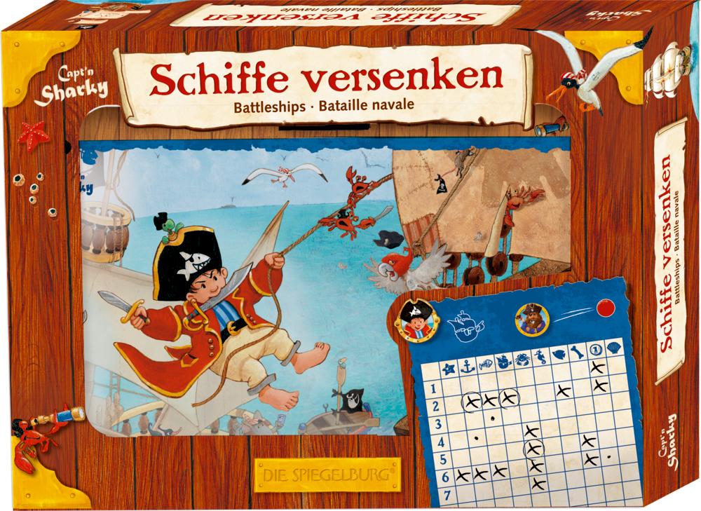 """Spiel """"Schiffe versenken"""" Capt'n Sharky"""