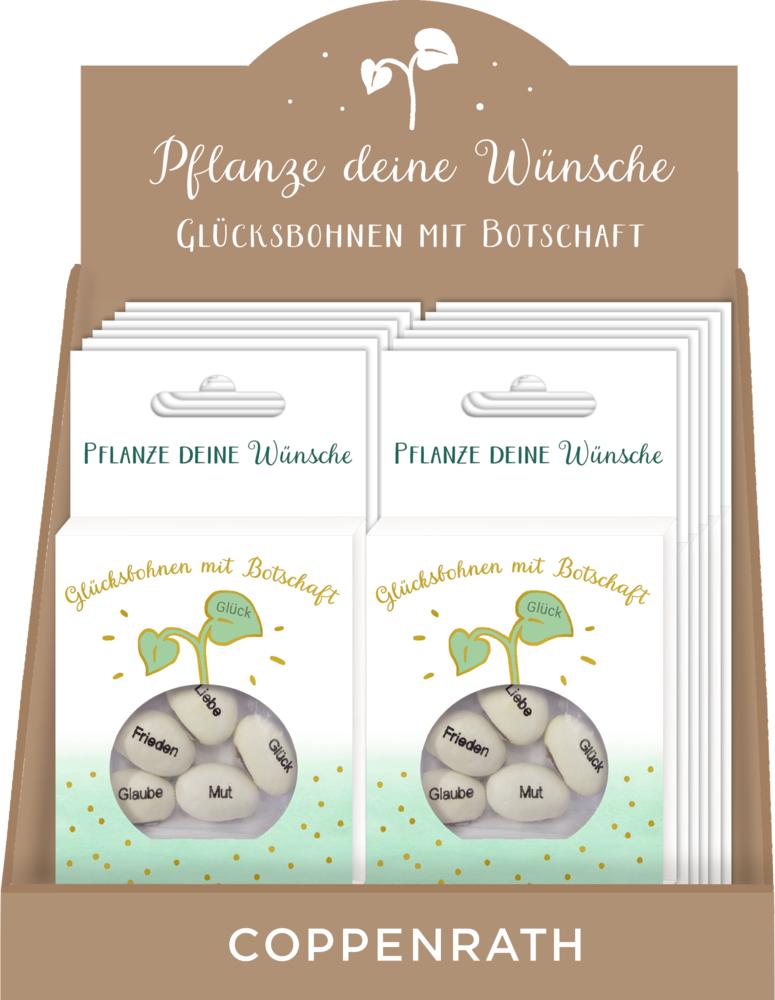 Geprägte Saatbohnen - Pflanze deine Wünsche