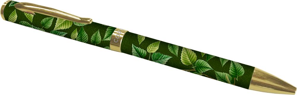 dunkelgrüner Kugelschreiber - Sammlung Augustina
