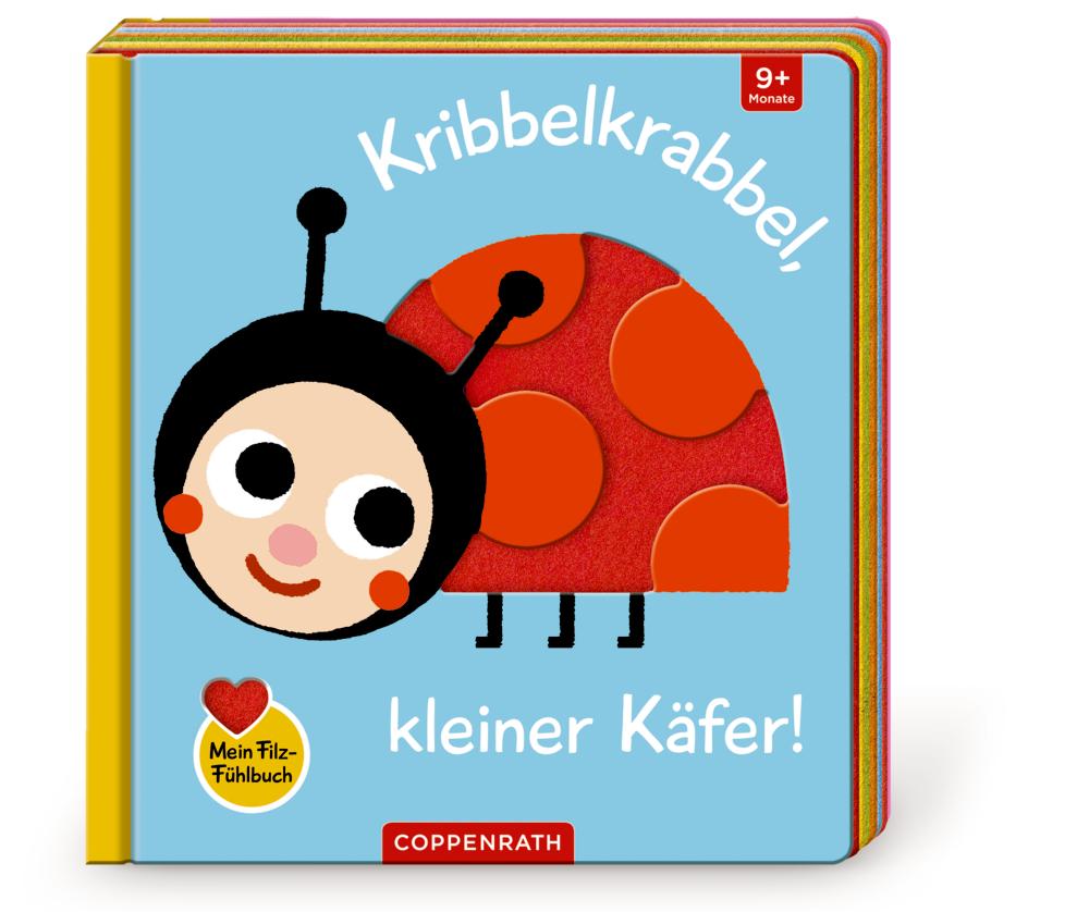 Mein Filz-Fühlbuch: Kribbelkrabbel, kleiner Käfer! (Fühlen & begreifen)