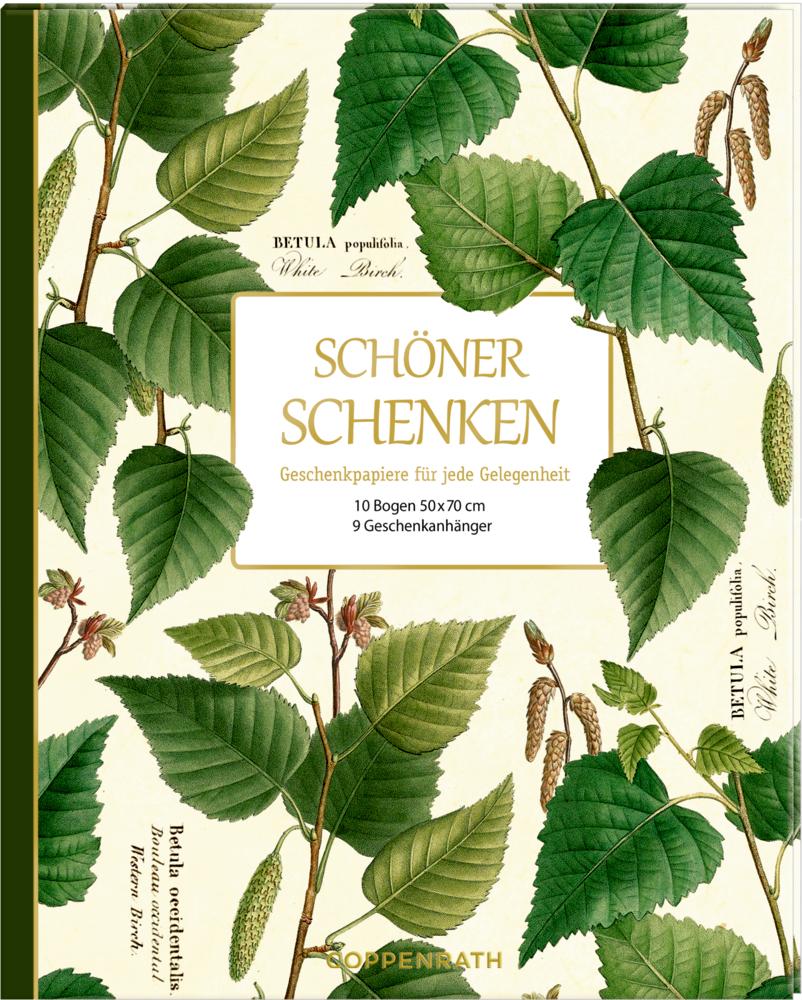 Geschenkpapier-Buch - Schöner schenken (Sammlg.Augustina)