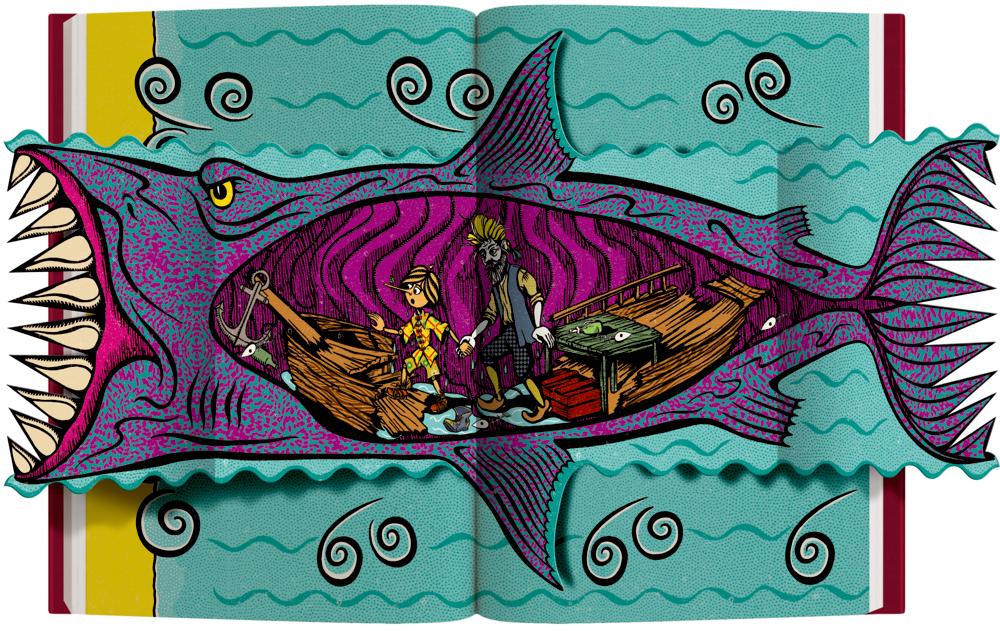 Die Abenteuer des Pinocchio (MinaLima)