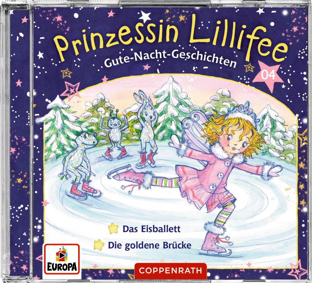 CD Hörspiel: Prinzessin Lillifee - Gute-Nacht-Geschichten (CD 4)