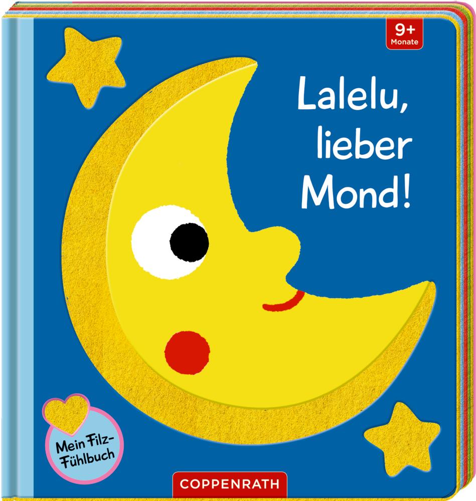 Mein Filz-Fühlbuch: Lalelu, lieber Mond!