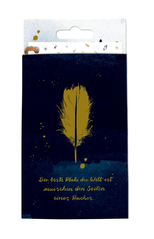 Lesezeichen-Lupe BücherLiebe!