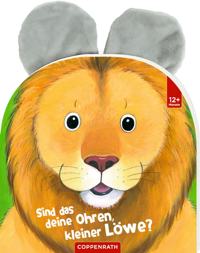 Sind das deine Ohren, kleiner Löwe?