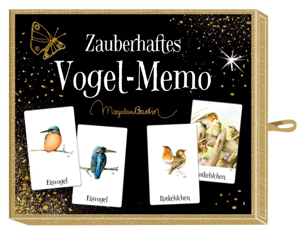 Schachtelspiel – Zauberhaftes Vogel-Memo (M. Bastin)