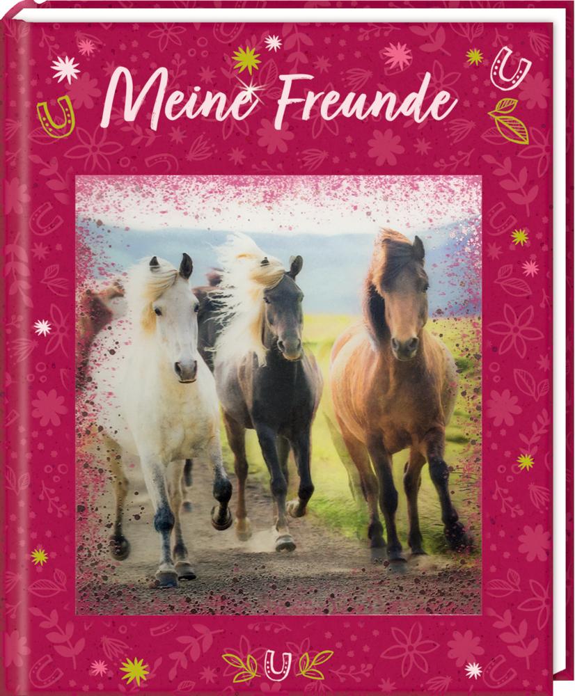 Freundebuch: Pferdefreunde - Meine Freunde