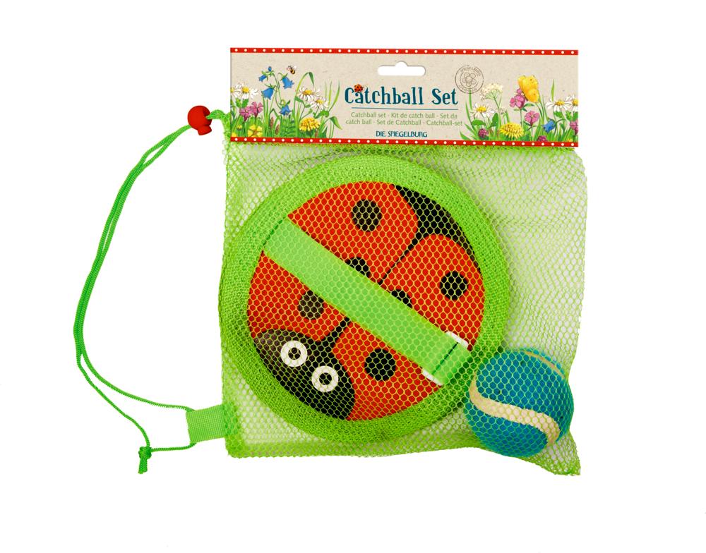 Catchball-Set Marienkäfer Garden Kids
