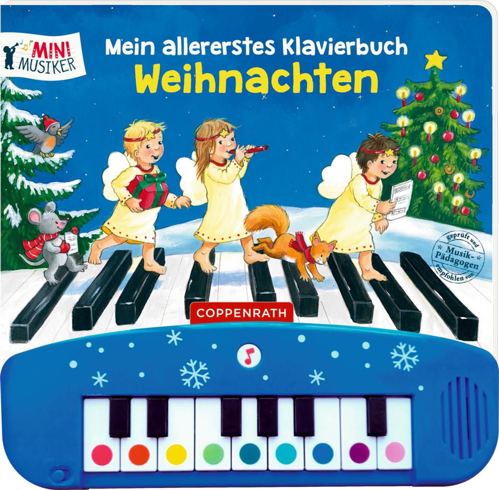 Mein allererstes Klavierbuch: Weihnachten (Soundbuch/Mini-Musiker)