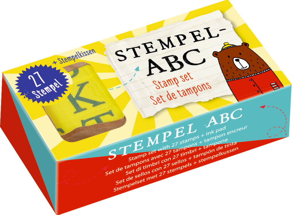 Stempel-ABC Bunte Geschenke