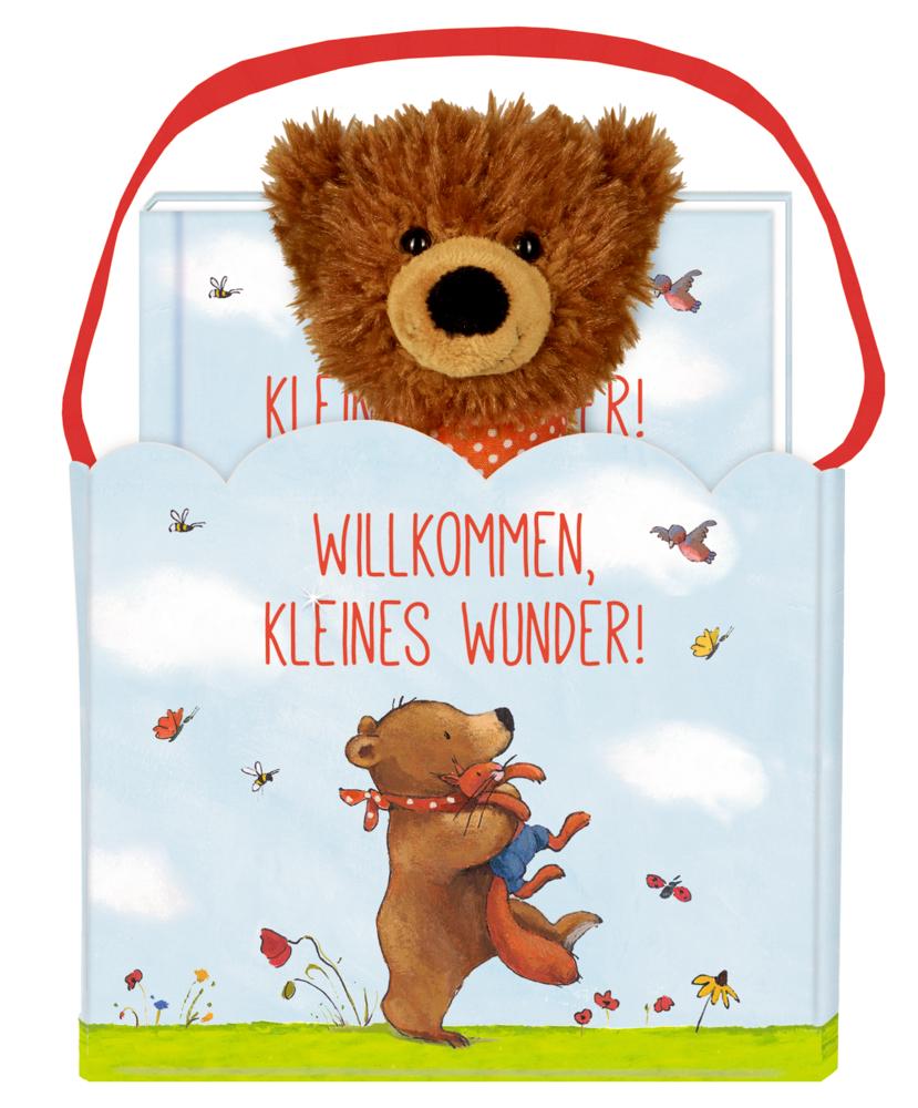 Geschenkset BabyBär - Willkommen, kleines Wunder!