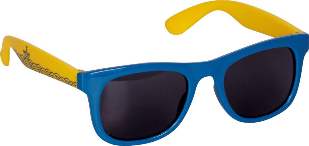 blau-gelbe Sonnenbrille Reisezeit Kids (UV 400 Schutz)