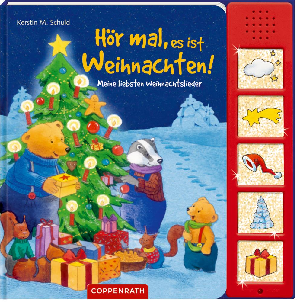 Hör mal, es ist Weihnachten! (Weihnachtslieder Soundbuch)