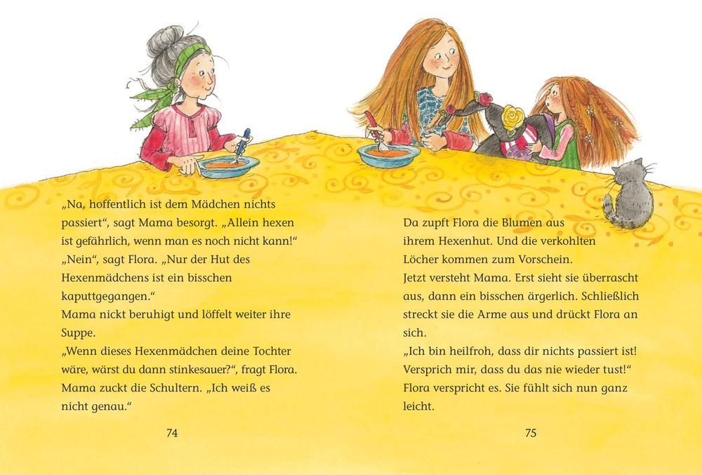 Flora Flitzebesen (für Leseanfänger) - Der magische erste Schultag (Bd. 1)