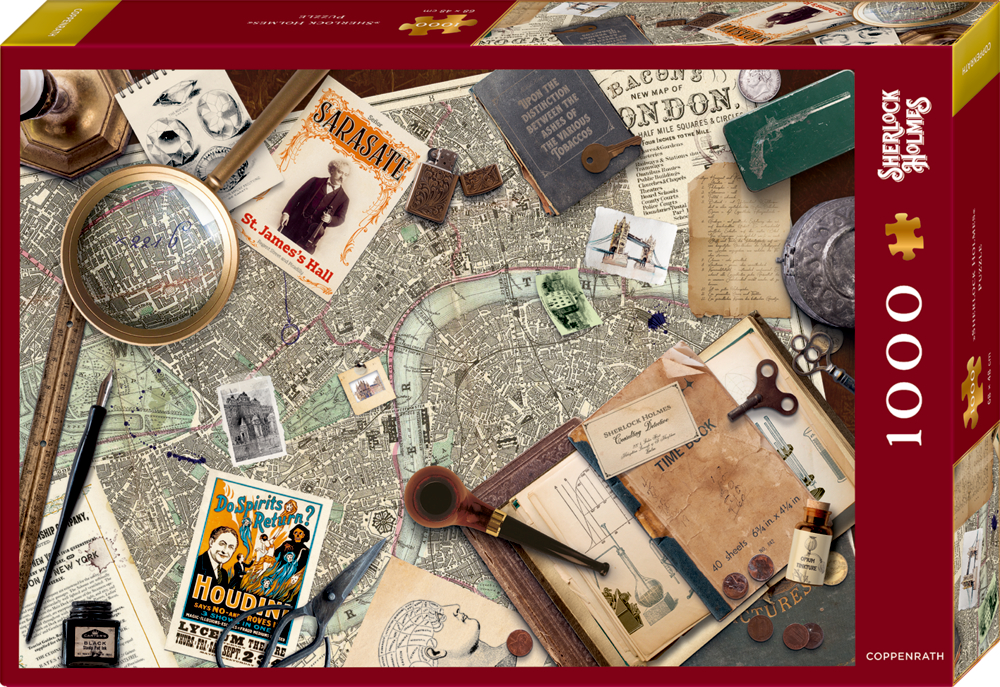 Puzzle Sherlock Holmes (1000 Teile)