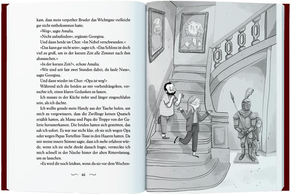 Malvina Moorwood (Bd.2) - Das Skelett im Schlossgarten