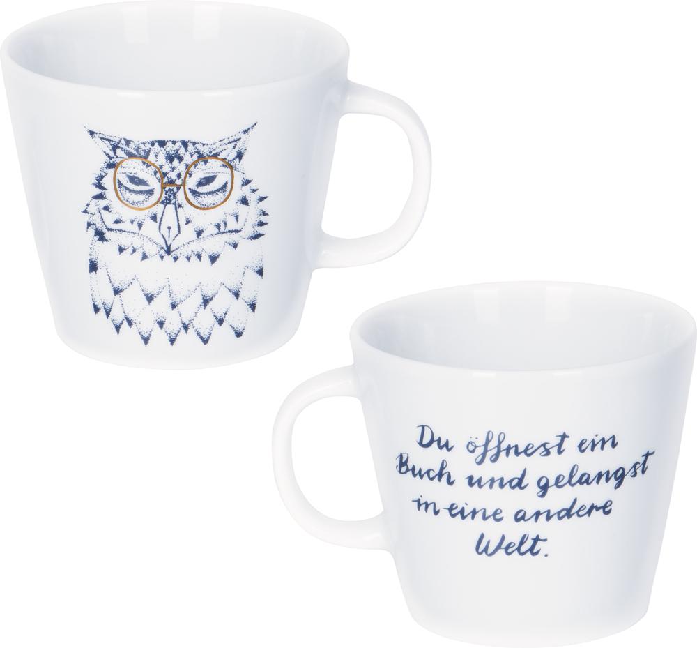 """Tasse """"Eule"""" BücherLiebe"""
