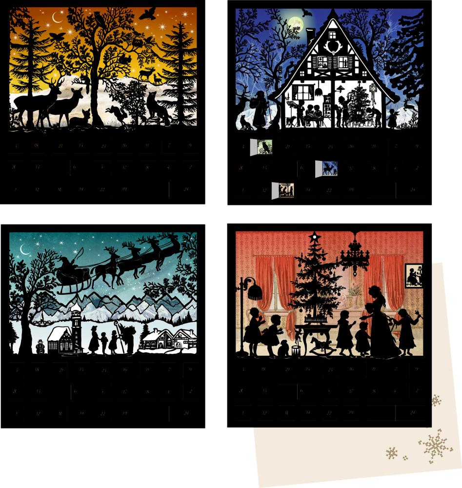 Stille Nacht, Mini-Adventskalender (B.Behr)