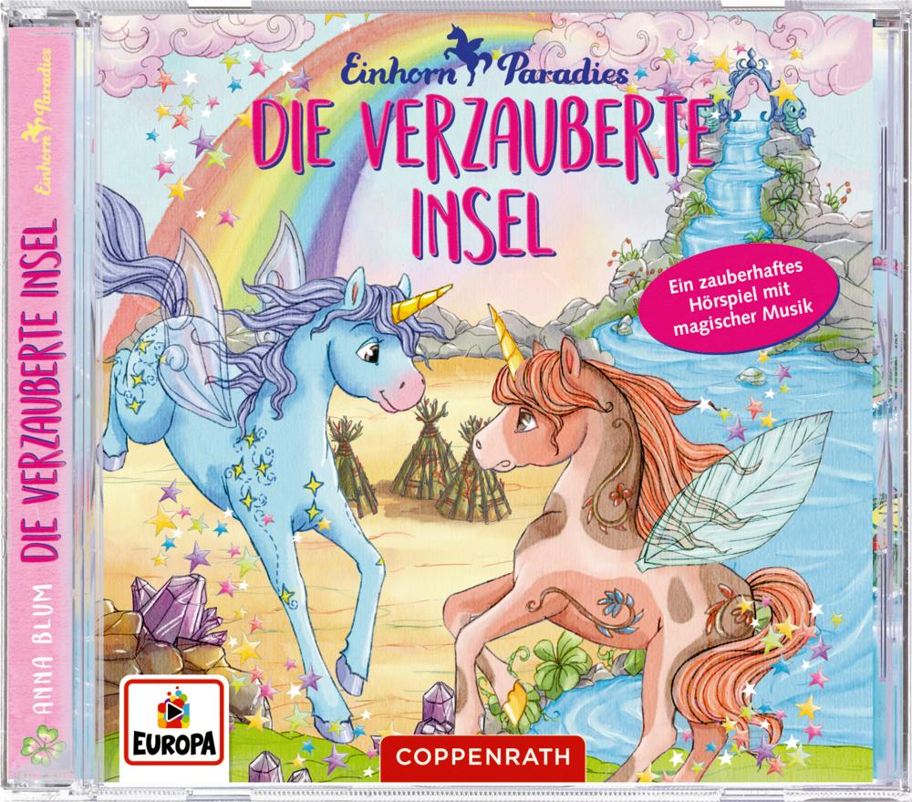 CD Hörspiel: Einhorn-Paradies (Bd.5) - Die verzauberte Insel