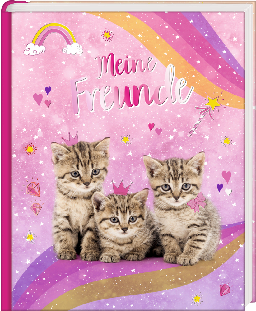 Freundebuch: Cosmic School - Meine Freunde (Kätzchen)