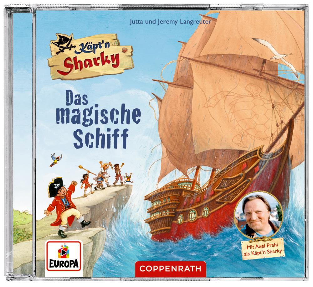 CD Hörspiel: Käpt'n Sharky - Das magische Schiff