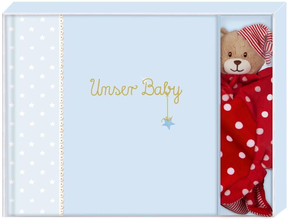 Geschenkset BabyGlück - Unser Baby, hellblau