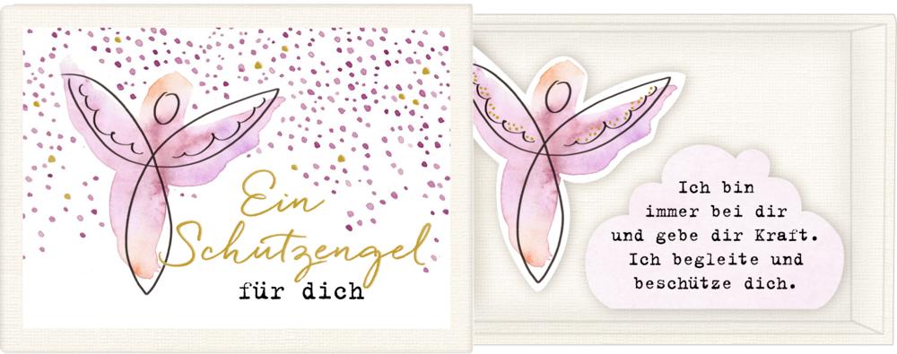 """Botschaften-Schachtel """"Ein Engel an deiner Seite"""""""