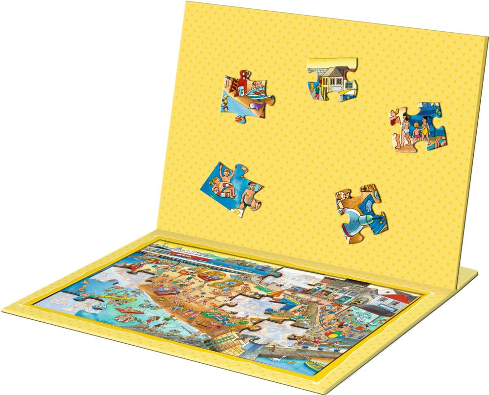 Magnetpuzzle Wir fahren ans Meer! (30 Teile)