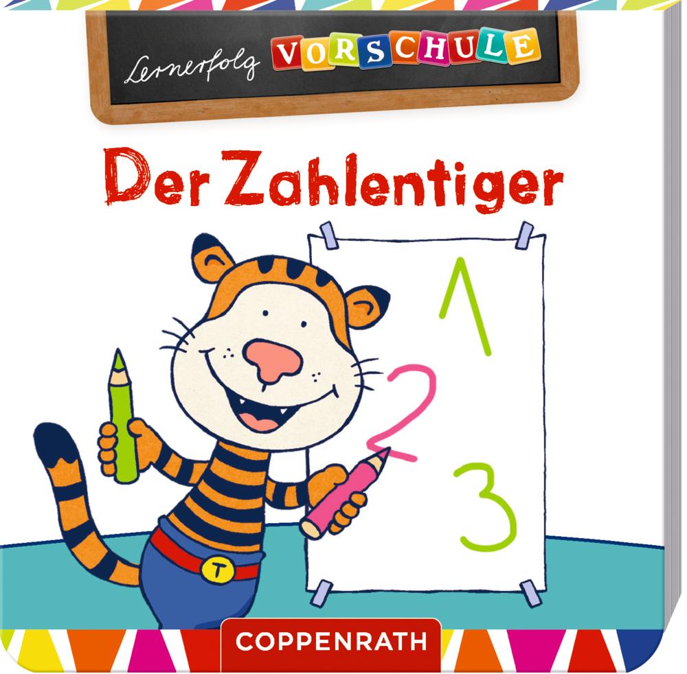 Lernerfolg Vorschule: Der Zahlentiger (Mini-Block)