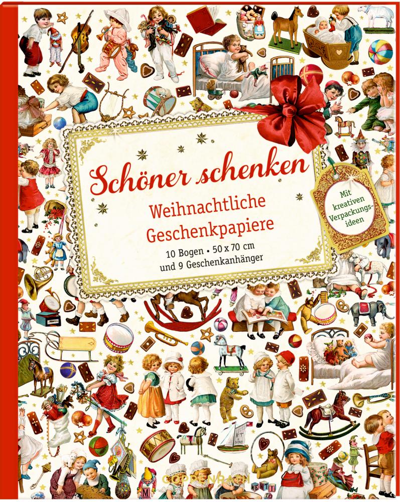 Geschenkpapier-Buch - Schöner schenken (Weihnachtlich/Behr)