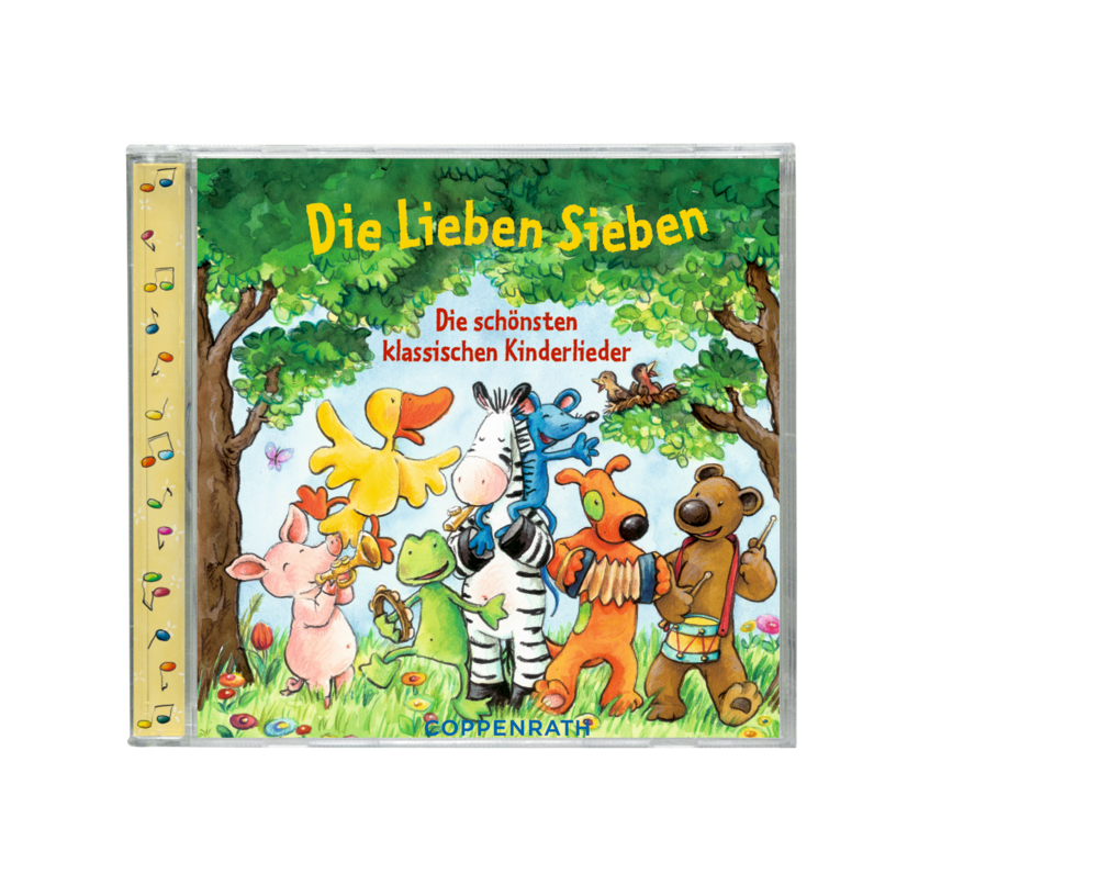 CD: Die Lieben Sieben - Die schönsten klassisch.Kinderlieder
