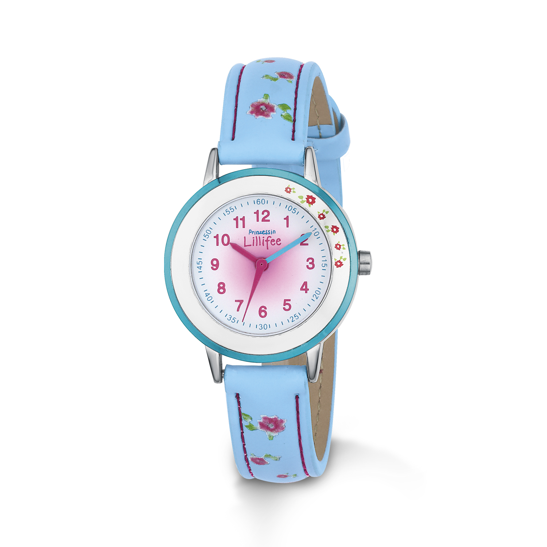 blaue Armbanduhr Prinzessin Lillifee (Marke Amor)