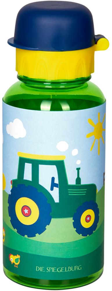 "Trinkflasche Traktor (Tritan/ca.0,4l) ""Wenn ich mal groß bin"""