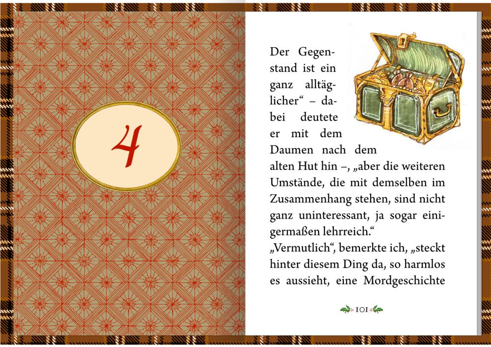 Der kl. Advent: Sherlock Holmes - Krimiklass. in 24 Kapiteln