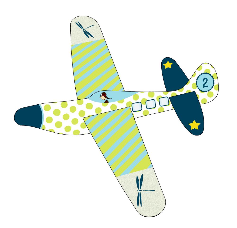 Flotte Flieger Bunte Geschenke, sort.