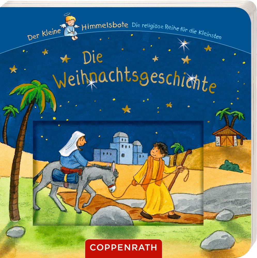Die Weihnachtsgeschichte (mit Schiebern) Der kleine Himmelsbote