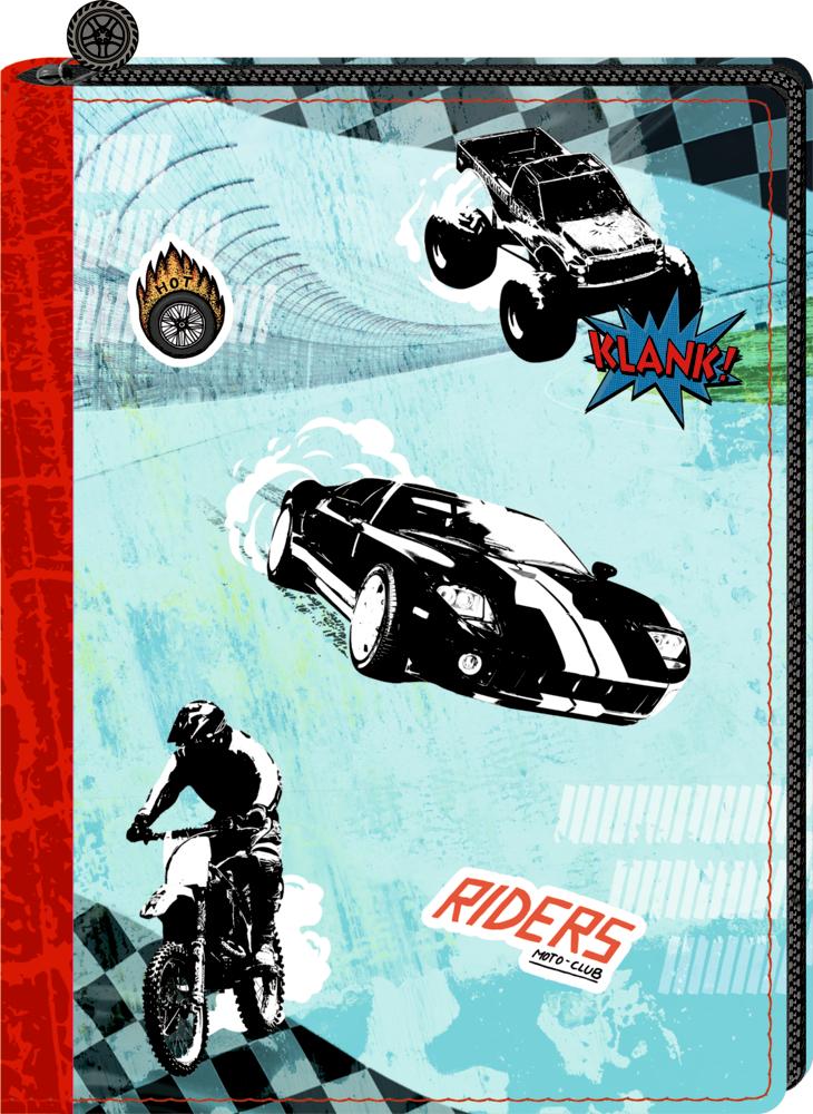 Tagebuch Motorsport (mit Reißverschluss-Cover)