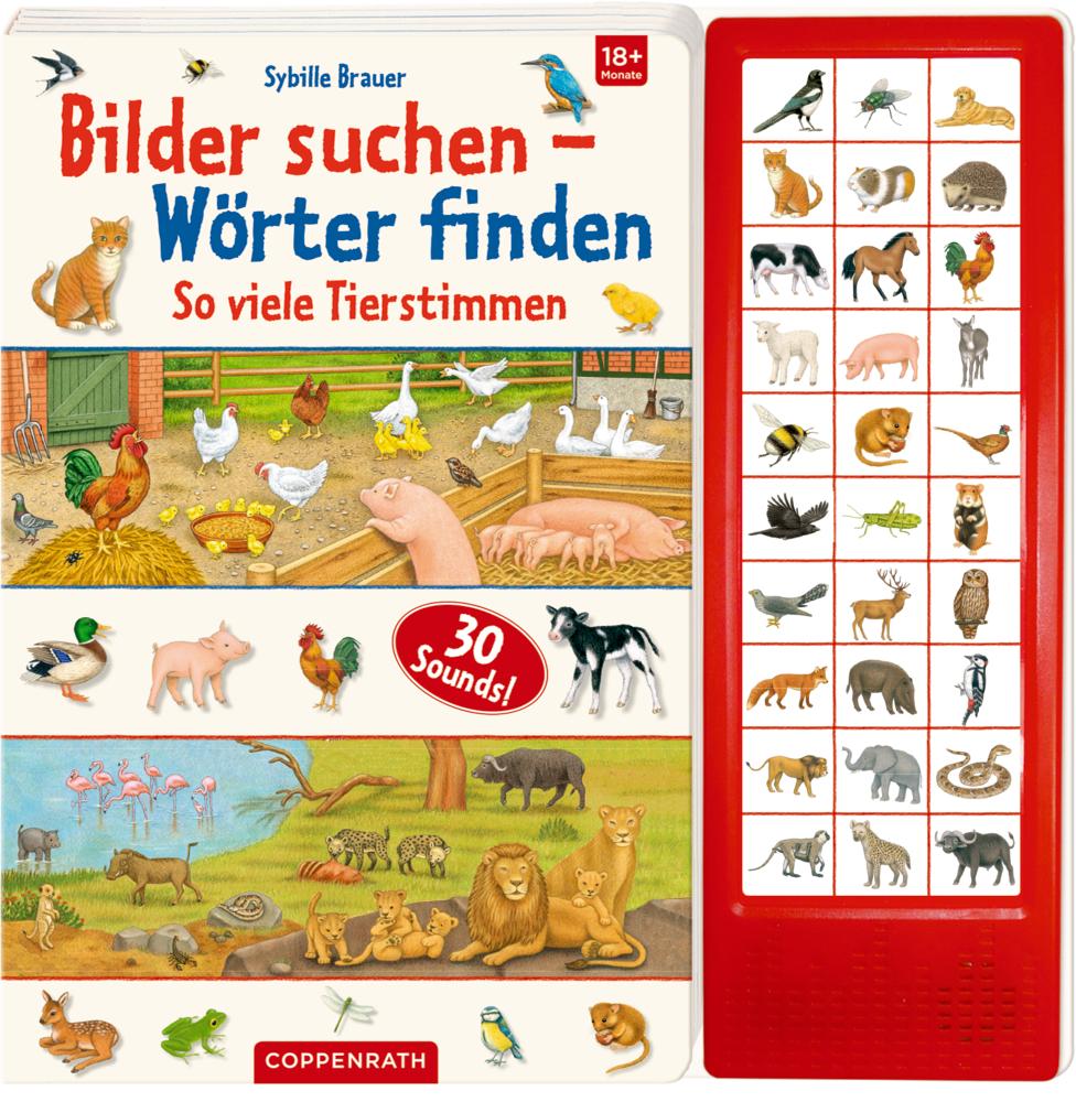 Bilder suchen - Wörter finden: So viele Tierstimmen (Sounduch)